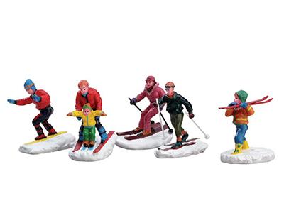 Winter Fun Figurines